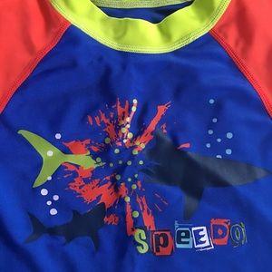 SPEEDO Swim Shirt for Little Boys 3T